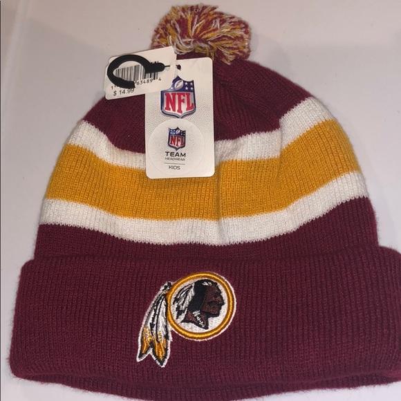 7e0a9fa6f2d NFL Washington Redskins kids OSFM knit beanie hat